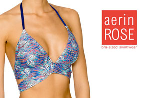 Aerin Rose Alps Swimwear Top Triangle Style 16-ALPS-T425