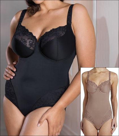 d48a68be9dd07 Anita Rosa Faia Scarlett Shapewear Body Underwire Embroidered Style 3438