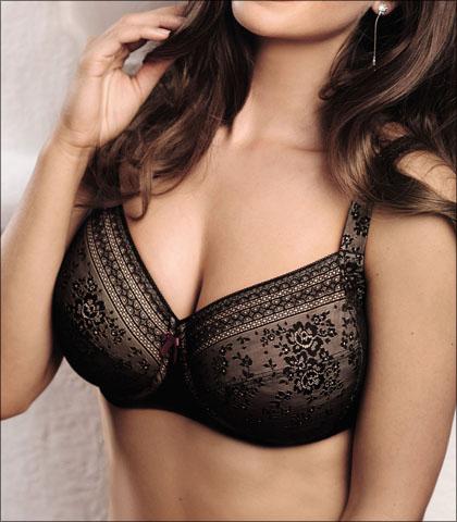 Anita Rosa Faia Fleur Bra Underwire Lace Lined Style 5653