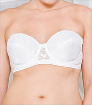 Carnival Full Figure Glamour Strapless Underwire Bra 123