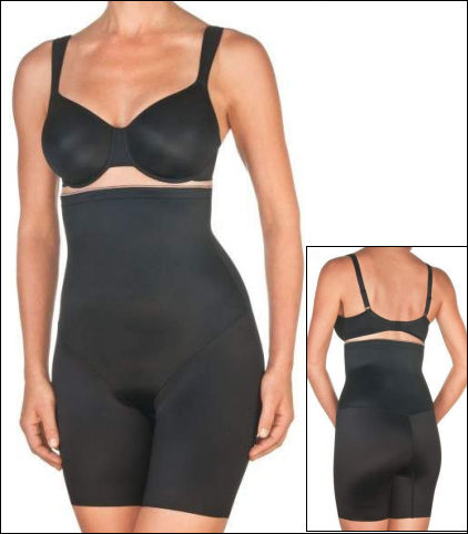 Conturelle Shapewear High-Waist Long Leg Shaper 88222