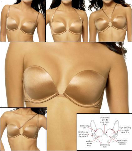 Dominique Convertible Multi Function Butterfly Bra 5000