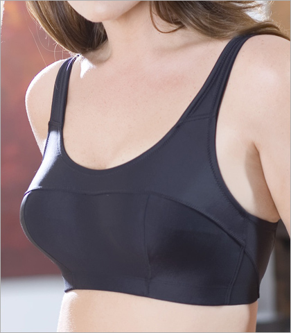 Elila Silver Fiber and Microfiber Sports Bra 1620
