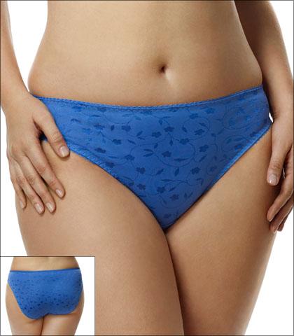 Elila Underwear Brief Jacquard Style 3405-BU