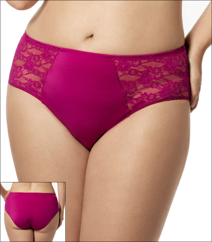 Elila Underwear Brief Lace Microfiber Style 3503-FS