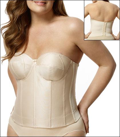 Elila Smooth Strapless Longline Bra Style 6421-NU