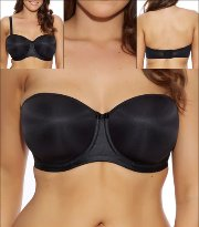 Elomi Smoothing Underwire Foam Moulded Strapless Bra 1230