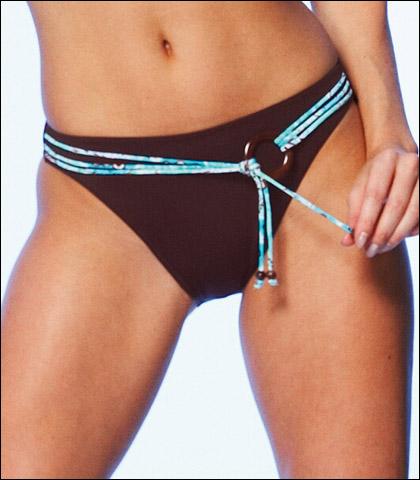 Fantasie Tokyo Classic Swimsuit Brief with Belt (Plain) 5034