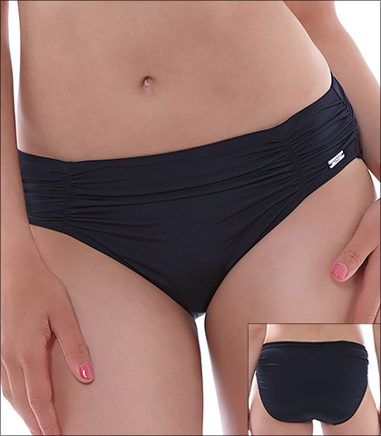 Fantasie Los Cabos Swimwear Bottom Brief Style 6155-BLK
