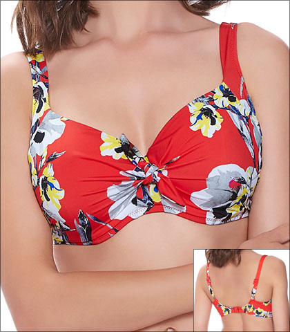 cc4b17d9557a7 Fantasie Calabria Swimwear Top Bikini Underwire Padded Style 6256