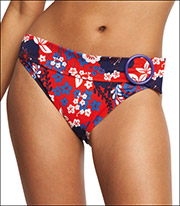 Fantasie Of England Flame Floral Print Classic Brief 8642
