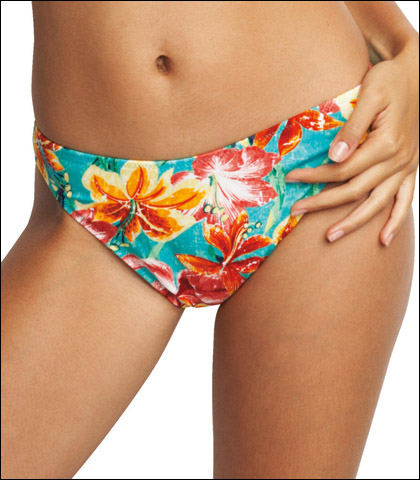 Fantasie Of England Hula Tropical Floral Classic Swimsuit Brief 8692