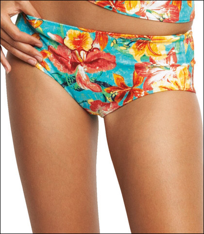 Fantasie Of England Tropical Floral Print Swimsuit Short 8693