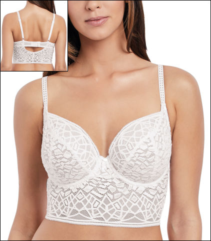 f8c5ae1403 Freya Soiree Lace Underwire Bralette Style AA5014-WHE