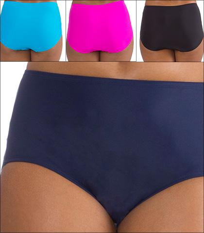 Mazu High Waist Tummy Control Swim Brief Style 707