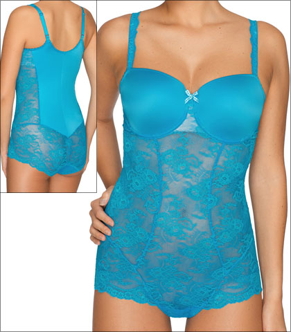 6193976c9b Prima Donna Twist Caramba Shapewear Body Underwire Smoother Embroidered  Style 0441422-SMB