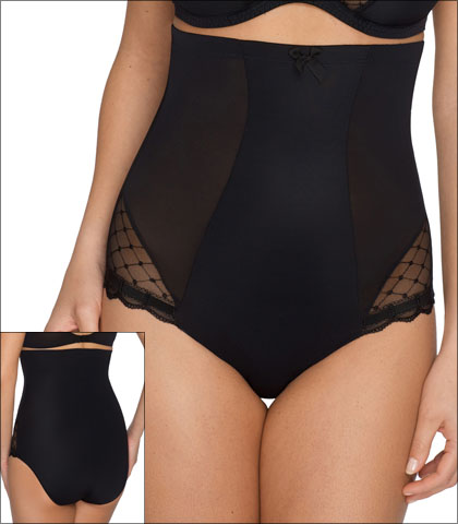 Prima Donna Twist A La Folie Shapewear Brief High Waist Embroidered Lace Style 0541124