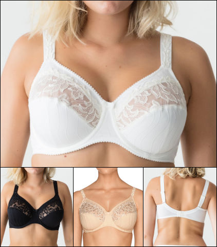Prima Donna Deauville Collection Full Figure Underwire Bra 0161817 f9081645e