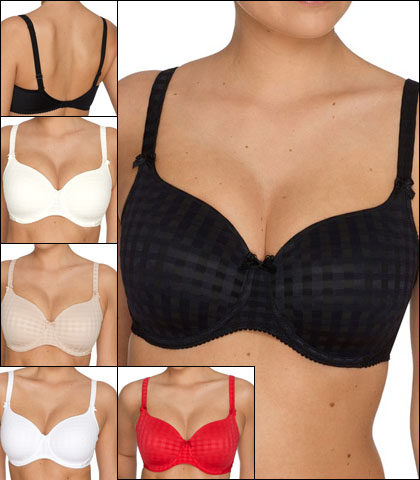 Prima Donna Madison Sweetheart Padded Bra Style 0262120