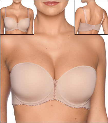 70922ab326890 Prima Donna Divine Bra Underwire Convertible Strapless Padded Style 0262658- PAT