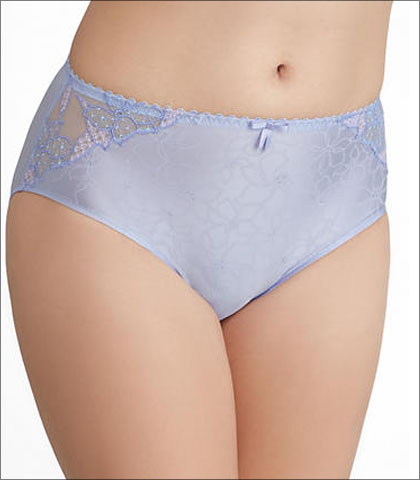 Prima Donna Gracious Underwear Brief High Waist Embroidered Style 0562691-CRC