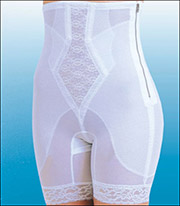 Rago Diet Minded Panty Girdle With Zipper 6228