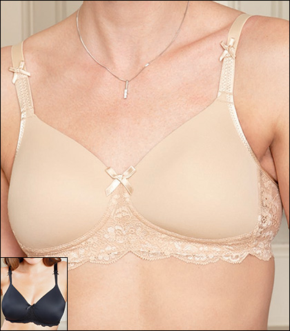 Royce Georgia Wire-Free Post Surgery Pocketed T-Shirt Bra 886P