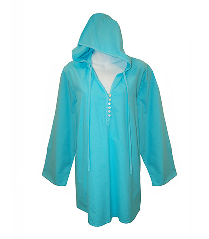 Sea Salt Apparel The Sailor Hoodie Aqua Style 526