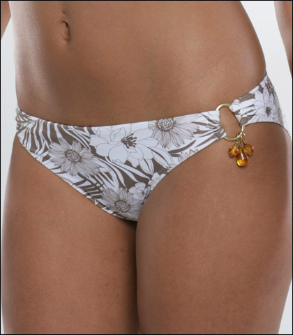 Storm In a D Cup Tie Side Swimsuit Pant 4601