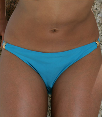 Storm In a D Cup Tab Swimsuit Pant 7108