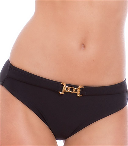 Storm in a D Cup Black Forest Swimsuit Belted Pant 9113BF