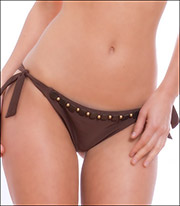 Storm in a D Cup Coconut Grove Swimsuit Tie Side Pant 9601CG