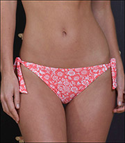 Storm In a D Cup Romantics Tie Side Swimsuit Pant 9601RSC