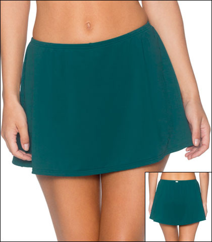 Sunsets Swimwear Bottom Brief Jade Sidekick Swim Skirt High Waist Style 17-JADE-49B