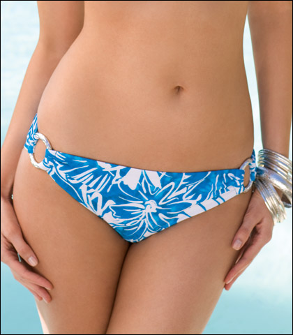 Sunsets Separates Ring Side Swimsuit Bikini Brief 19B
