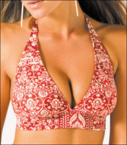 Halter Top Bikini XS up to D DD and E Cup Size by Sunsets Separates 66T