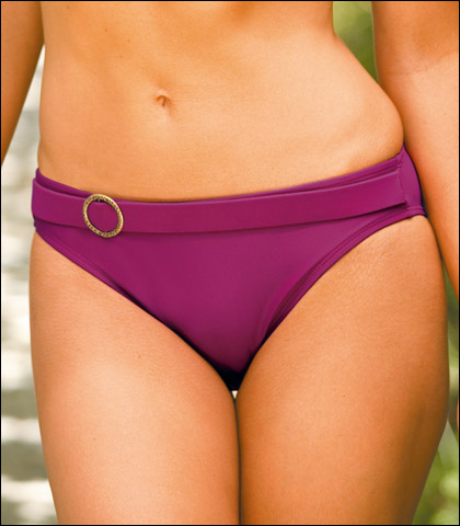 Swim Systems Front Ring Low Rise Swimsuit Brief A225