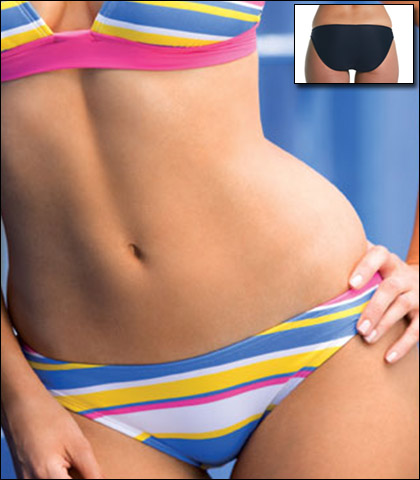 Swim Systems Low Rise Swimsuit Bikini Bottom B217