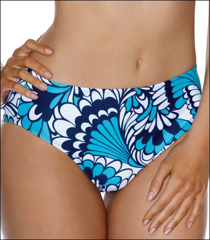 Swim Systems High Waist Bikini Bottom C238