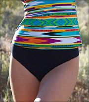 Swim Systems High Waist Bikini Bottom D238