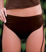 Swim Systems Adjustable Side Bikini Bottom J143
