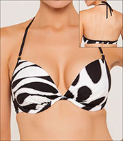 Push-up Underwire Swim Top Style 140