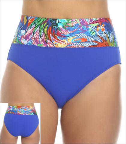 Tara Grinna Whitehave Beach Swimwear Bottom Bikini Fold Down Style 16-WI-213