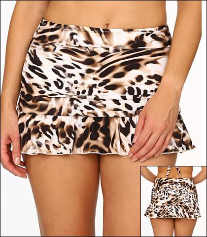 Tara Grinna Zimbabwe Swimwear Bottom Skirted High Waist Style 17-ZI-222