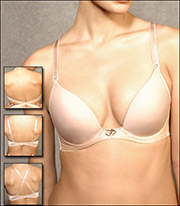 Va Bien Ultra Lift Low Plunge Convertible Bra 1502