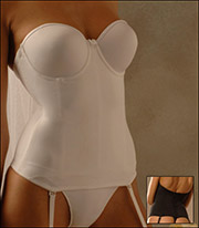 Va Bien Ultra-Lift Seamless Cup Invisible Bones Bridal Bustier 1503