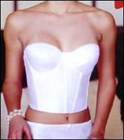 Va Bien Brides Backless Strapless Molded Long Line Bustier 506
