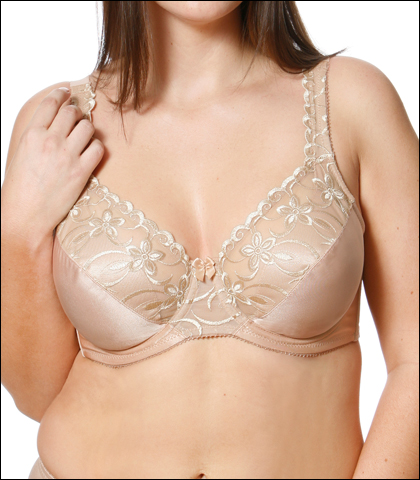 Vabien High Fashion Classics Full Figure Underwire Bra 660