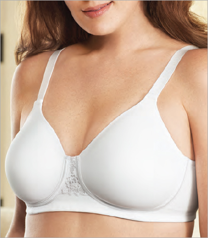 97660b6afa228 Vanity Fair Full Figure Bras Beautiful Benefits Back Smoother Full Figure  Wire Free Bra 71380