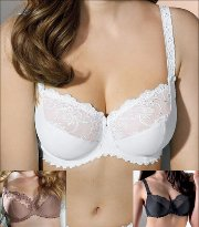 6877c09b9f Anita Rosa Faia Scarlett Bra Underwire Three Section Cups Style 5648